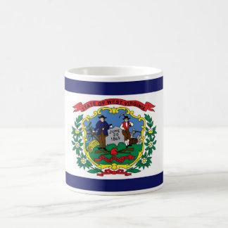 West Virginia State Flag Coffee Cup Mug