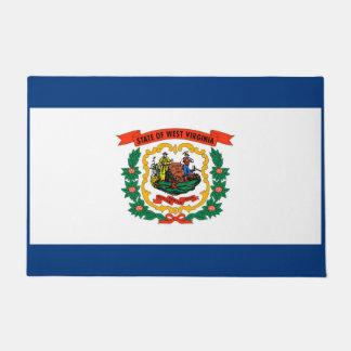 West Virginia State Flag Design Doormat