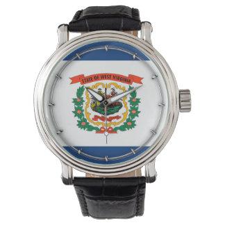 West Virginia State Flag Design Wristwatch