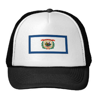 West Virginia State Flag Hats