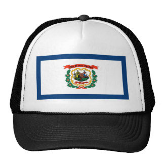 West Virginia State Flag Hat