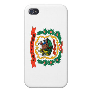West Virginia state flag iPhone 4/4S Cases