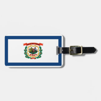 West Virginia State Flag Tags For Luggage