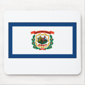West Virginia State Flag Mousepads
