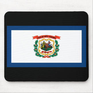West Virginia State Flag Mousepad