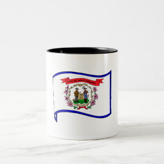 West Virginia State Flag Mug