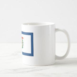 West Virginia State Flag Coffee Mug