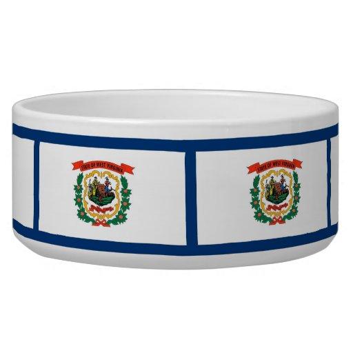 West Virginia State Flag Pet Bowl