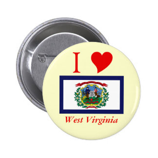 West Virginia State Flag Pins