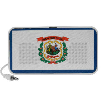 West Virginia State Flag Portable Speaker