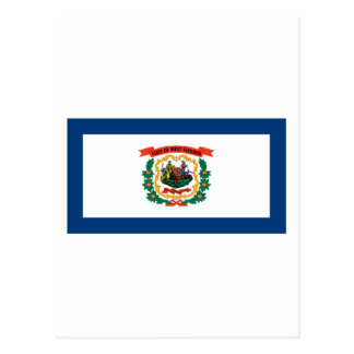West Virginia State Flag Post Cards