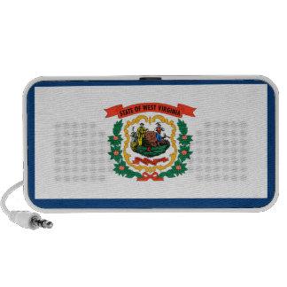 West Virginia State Flag iPod Speakers