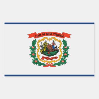 West Virginia State Flag Sticker
