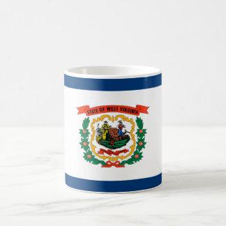 west virginia state flag united america republic s basic white mug