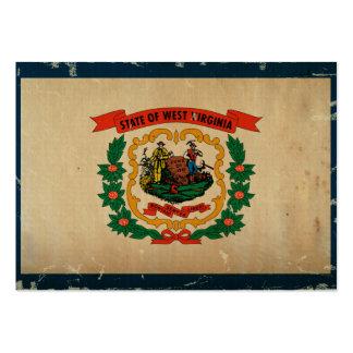 West Virginia State Flag VINTAGE Business Cards