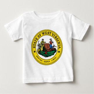West Virginia state seal.jpg Baby T-Shirt