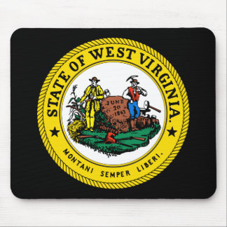 West Virginia State Seal Mousepad