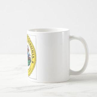 West Virginia State Seal Coffee Mugs