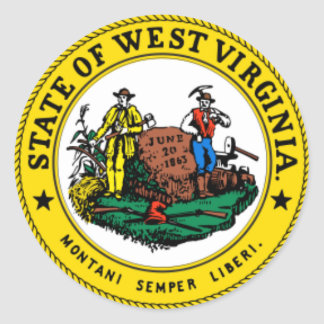 WEST VIRGINIA: State seal of West Virginia