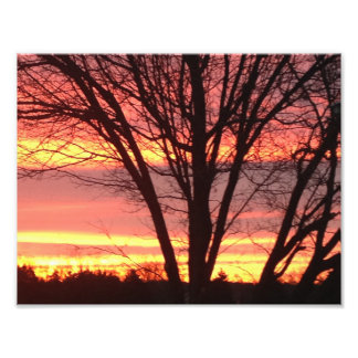 West Virginia Sunset Photo Print