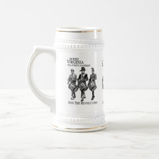 WEST VIRGINIA  TEA PARTY  BEER STEIN