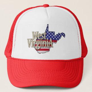 West Virginia USA Flag Hat