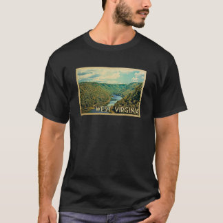 West Virginia Vintage Travel T-shirt
