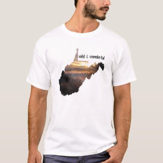 West Virginia, Wild & Wonderful T-Shirt