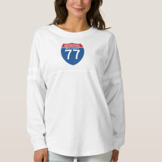 West Virginia WV I-77 Interstate Highway Shield -