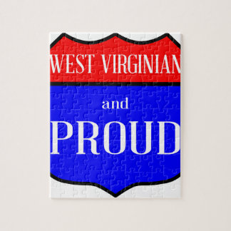 West Virginian And Proud Jigsaw Puzzle