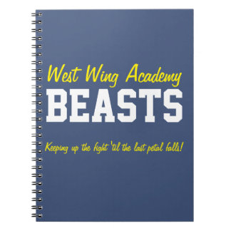 West Wing Academy Beasts Notebook