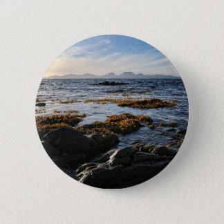 Westcoast of Scotland, Isle of Jura 6 Cm Round Badge