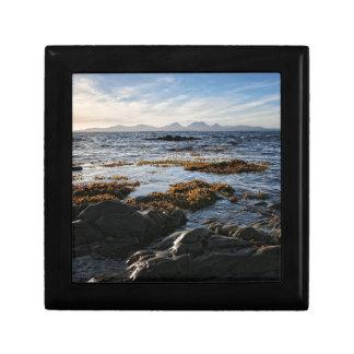 Westcoast of Scotland, Isle of Jura Small Square Gift Box