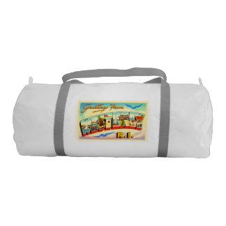 Westerly Rhode Island RI Vintage Travel Souvenir Gym Duffel Bag
