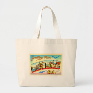 Westerly Rhode Island RI Vintage Travel Souvenir Large Tote Bag
