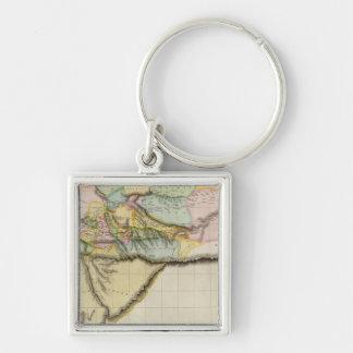 Western Africa Keychain