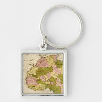 Western AfricaPanoramic MapWestern Africa 3 Key Chain
