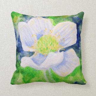 Western Anemone throw cushion