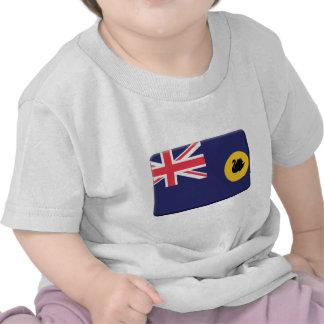 Western Australia Flag PERSONALIZE T-shirts
