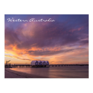 Western Australian sunset Postcard