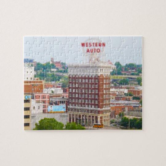 Western Auto Building Loft Condos Kansas City Jigsaw Puzzle