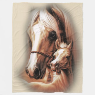 Western Blondes Fleece Blanket