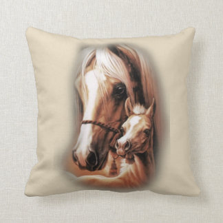 Western Blondes Throw Pillow