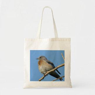 Western Bluebird Tote Bag