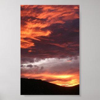 Western Colorado Sunset Poster
