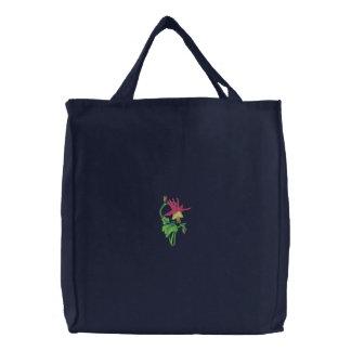 Western Columbine Canvas Bags