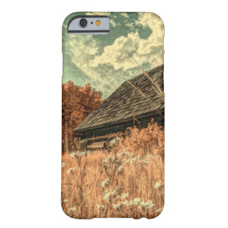 western country field wildflower farm Old Barn Barely There iPhone 6 Case