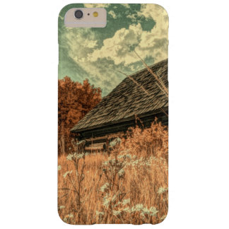western country field wildflower farm Old Barn Barely There iPhone 6 Plus Case