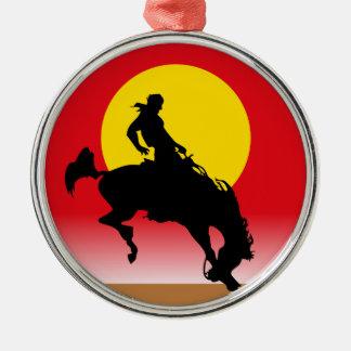Western Cowboy Christmas Tree Ornament