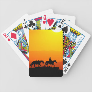 Western cowboy-Cowboy-texas-western-country Bicycle Playing Cards